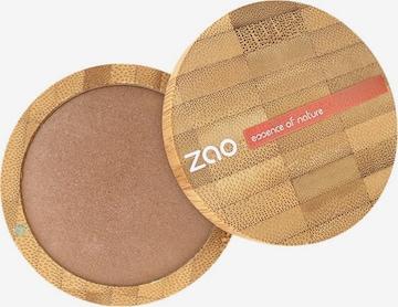 zao Bronzer 'Bamboo Cooked Powder' in Braun