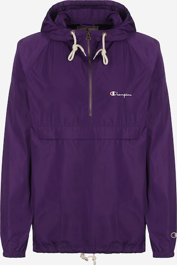 Champion Authentic Athletic Apparel Jacke in dunkellila: Frontalansicht