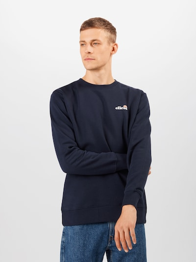 ELLESSE Sportsweatshirt 'Brufa' in de kleur Navy: Vooraanzicht