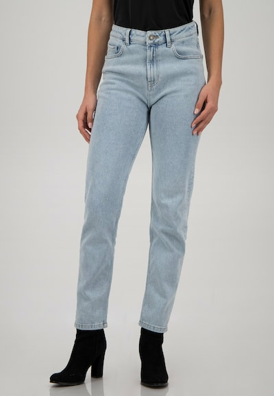 ONE MORE STORY STRAIGHT - Jeans in heller Waschung im 5 Pocket Style in hellblau, Modelansicht