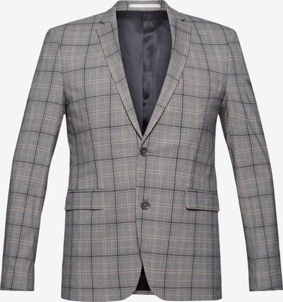 Esprit Collection Veste de costume en marron / gris / noir / blanc, Vue avec produit