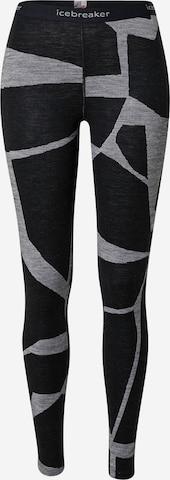 ICEBREAKER Športové nohavice - Čierna