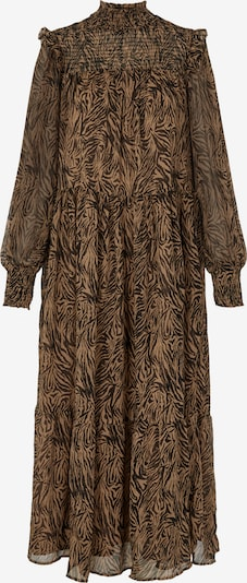Rochie tip bluză 'Ninno' Y.A.S pe maro / negru, Vizualizare produs