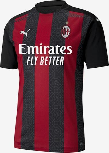 PUMA Trikot 'AC Milan Authentic' in blutrot / schwarz, Produktansicht