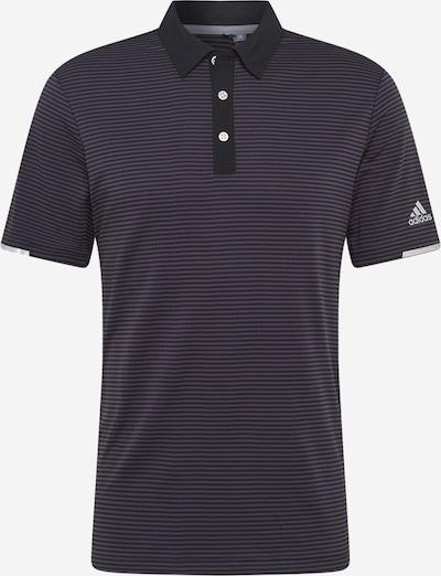 adidas Golf Functioneel shirt in de kleur Grijs / Zwart, Productweergave