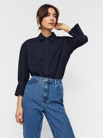 Vero Moda Aware Bluse 'Riley' in Blau