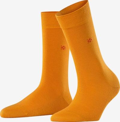 BURLINGTON Chaussettes en jaune foncé / orange, Vue avec produit