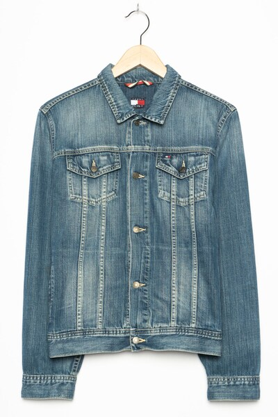 TOMMY HILFIGER Jeansjacke in L in blue denim, Produktansicht
