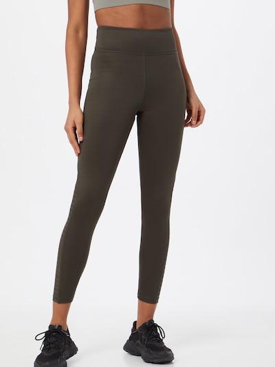 ABOUT YOU Leggings 'Mina' in khaki, Modelansicht