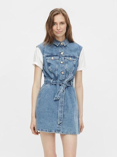 PIECES Kleid 'Namir' in blau, Modelansicht