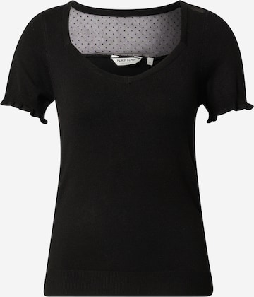 NAF NAF Shirt 'MARCY' in Black