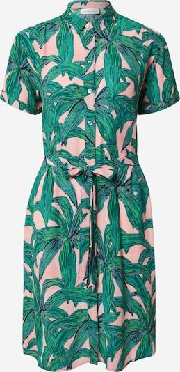 Fabienne Chapot Kleid 'Boyfriend' in smaragd / rosa, Produktansicht