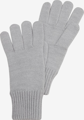 s.Oliver Full Finger Gloves in Grey