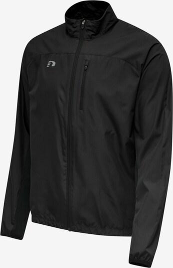 Hummel Sportjacke in schwarz, Produktansicht