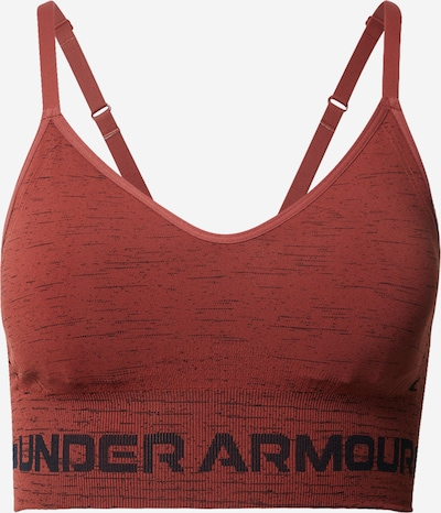 UNDER ARMOUR Sport-BH in rot / schwarz, Produktansicht