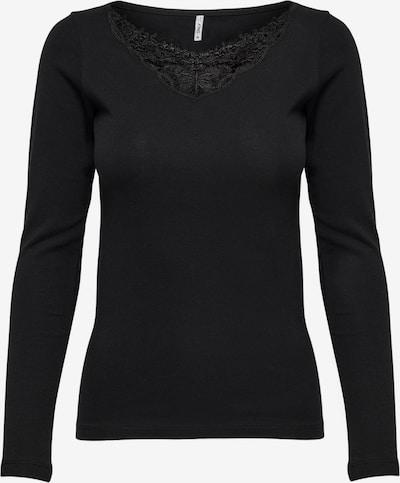 ONLY Shirt 'Kira' in schwarz, Produktansicht