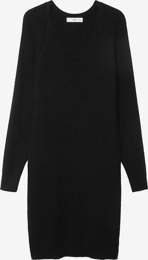 MANGO Плетена рокля 'KORINA' в черно, Преглед на продукта