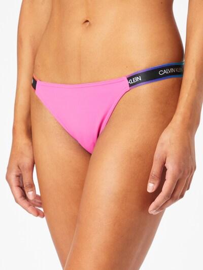 Calvin Klein Swimwear Bas de bikini 'CHEEKY' en mélange de couleurs / rose, Vue avec modèle
