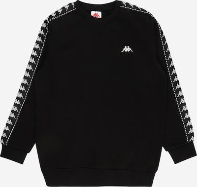 KAPPA Sweatshirt 'ILDAN' in schwarz / weiß, Produktansicht