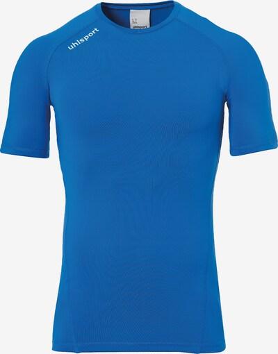 UHLSPORT Shirt in blau: Frontalansicht