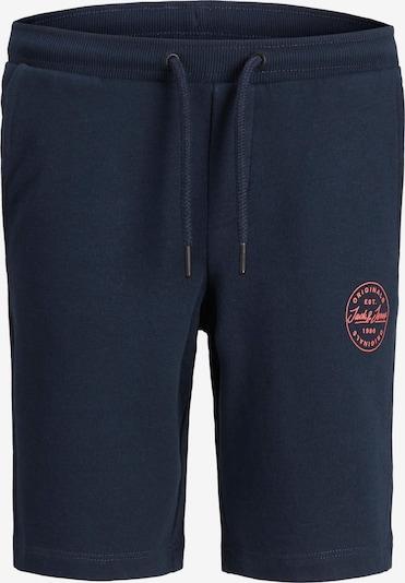 Pantaloni Jack & Jones Junior pe bleumarin, Vizualizare produs