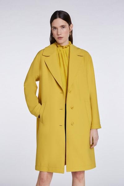 SET Mantel in gelb, Modelansicht