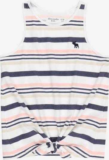 Abercrombie & Fitch Top en beige / navy / coral / blanco, Vista del producto