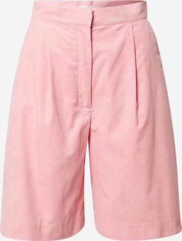 NUÉ NOTES Plissert bukse 'Essy' i rosa