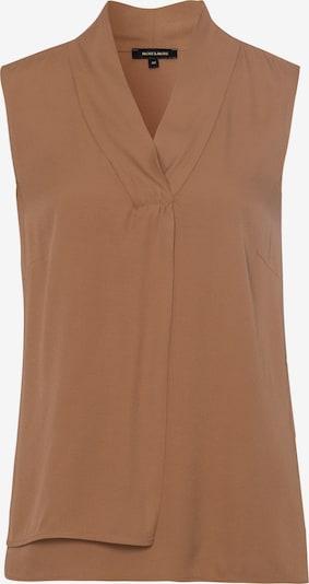 MORE & MORE Bluse in braun, Produktansicht