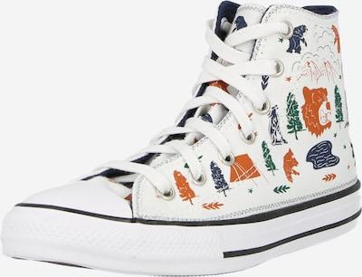 CONVERSE Sneaker 'CTAS' in nachtblau / grün / dunkelorange / weiß, Produktansicht