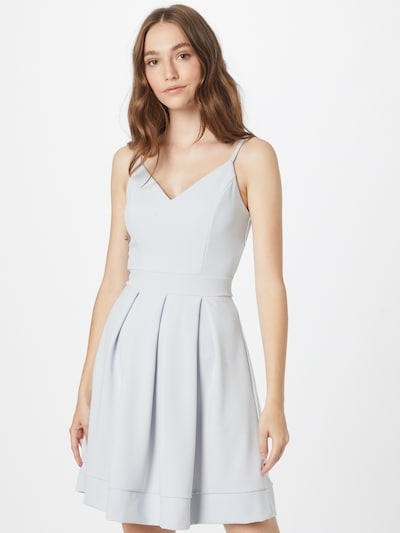 WAL G. Kokteilové šaty 'ANABELLE' - svetlosivá, Model/-ka