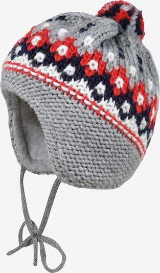 MAXIMO Beanie 'BABY' in Navy / Grey / Red / White, Item view