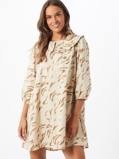 Envii Kleid 'Bronx' in beige / braun, Modelansicht
