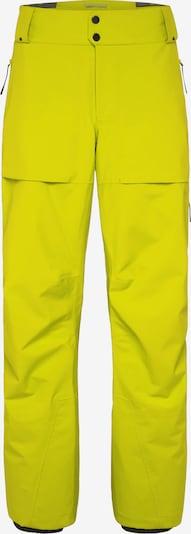 PYUA Outdoorbroek in de kleur Geel, Productweergave