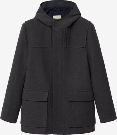 MANGO MAN Mantel in graumeliert, Produktansicht