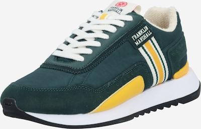 FRANKLIN & MARSHALL Sneaker 'EPSILON BOWL' in gelb / dunkelgrün / weiß, Produktansicht