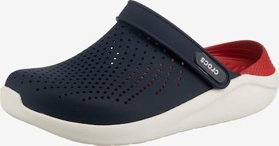 Crocs Sabots 'Lite Ride' en bleu marine / rouge, Vue avec produit