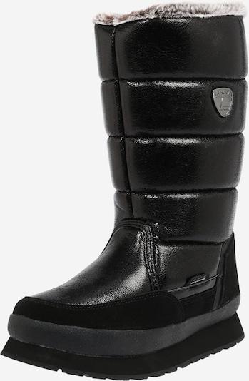 LUHTA Škornji 'VALKEA' | črna barva, Prikaz izdelka
