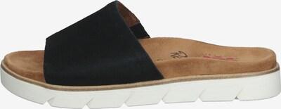 Relife Pantolette in braun / schwarz / offwhite, Produktansicht