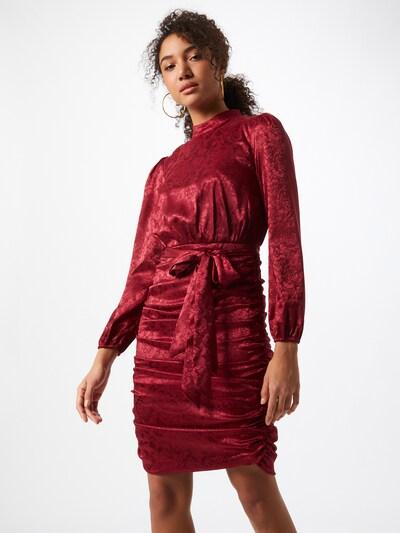 Chi Chi London Kleid 'Camile' in burgunder, Modelansicht