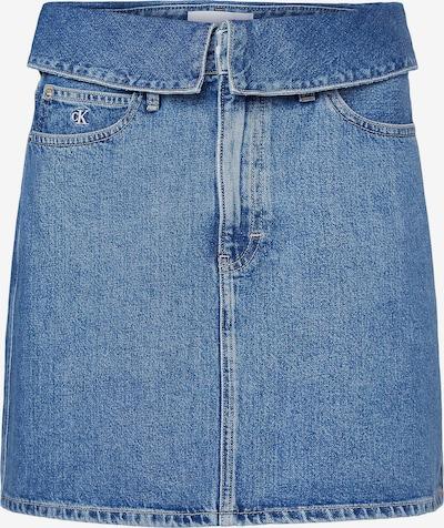 Calvin Klein Jeans Rock in blue denim, Produktansicht