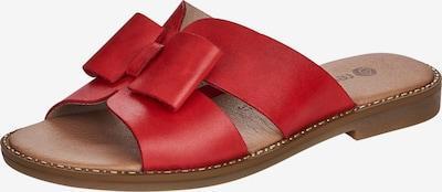 REMONTE Pantolette in rot, Produktansicht