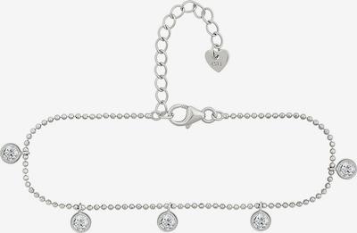 caï Armband in silber / transparent, Produktansicht