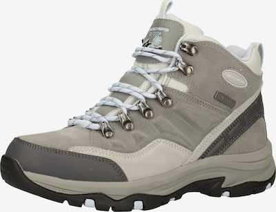 SKECHERS Boots 'Trego' en gris / gris clair / gris foncé, Vue avec produit