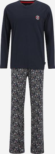 CECEBA Pajama in blau / dunkelblau / rot / weiß, Produktansicht