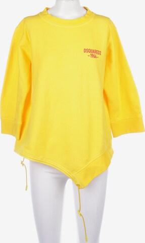 DSQUARED2  Sweatshirt & Zip-Up Hoodie in XS in Yellow