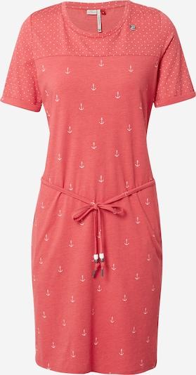 Ragwear Kleid 'NUGGIE' in melone / weiß, Produktansicht