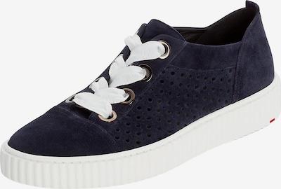 LLOYD Sneaker mit breiter Schnürung in blau, Produktansicht