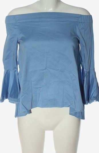 Silvian Heach Carmen-Bluse in S in blau, Produktansicht