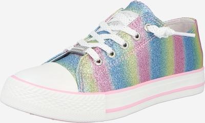 Dockers by Gerli Sneaker in himmelblau / hellgrün / pink / hellpink / silber / weiß, Produktansicht